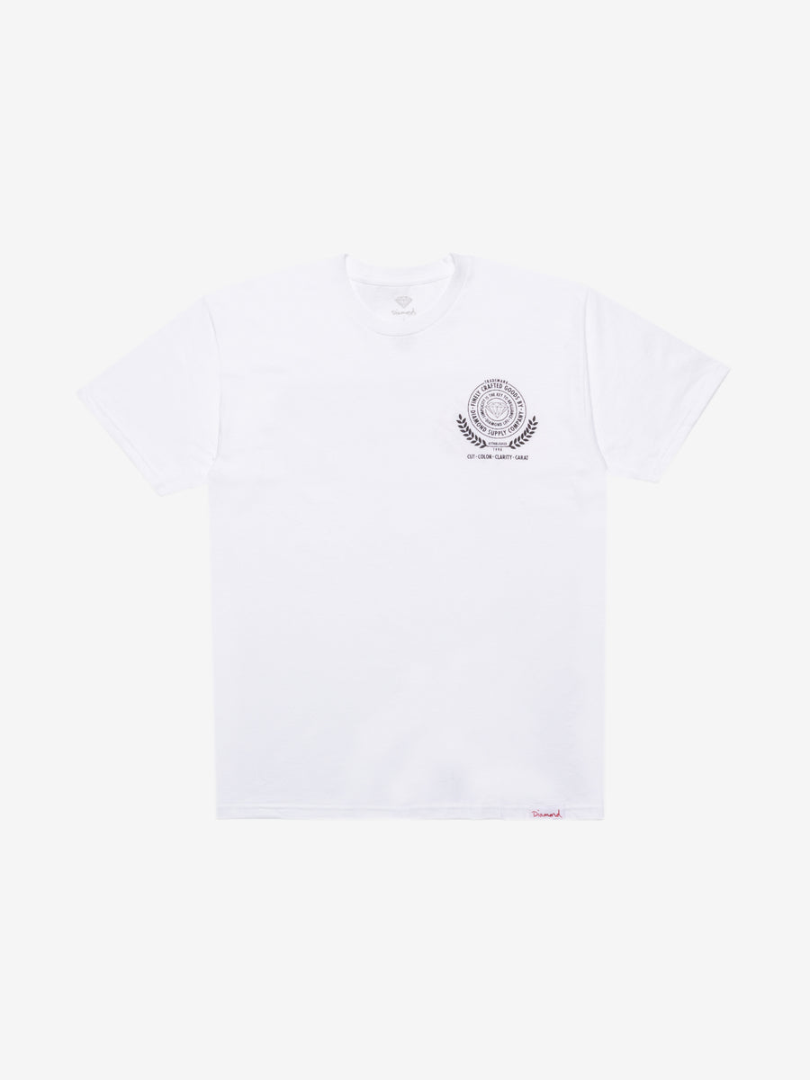 Diamond Crafted Goods Tee - White