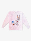 Bugs Tie Dye Crewneck - Cotton Candy