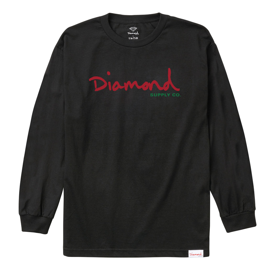 Alligator Longsleeve, Spring 2018 Delivery 1 Tee Printable -  Diamond Supply Co.
