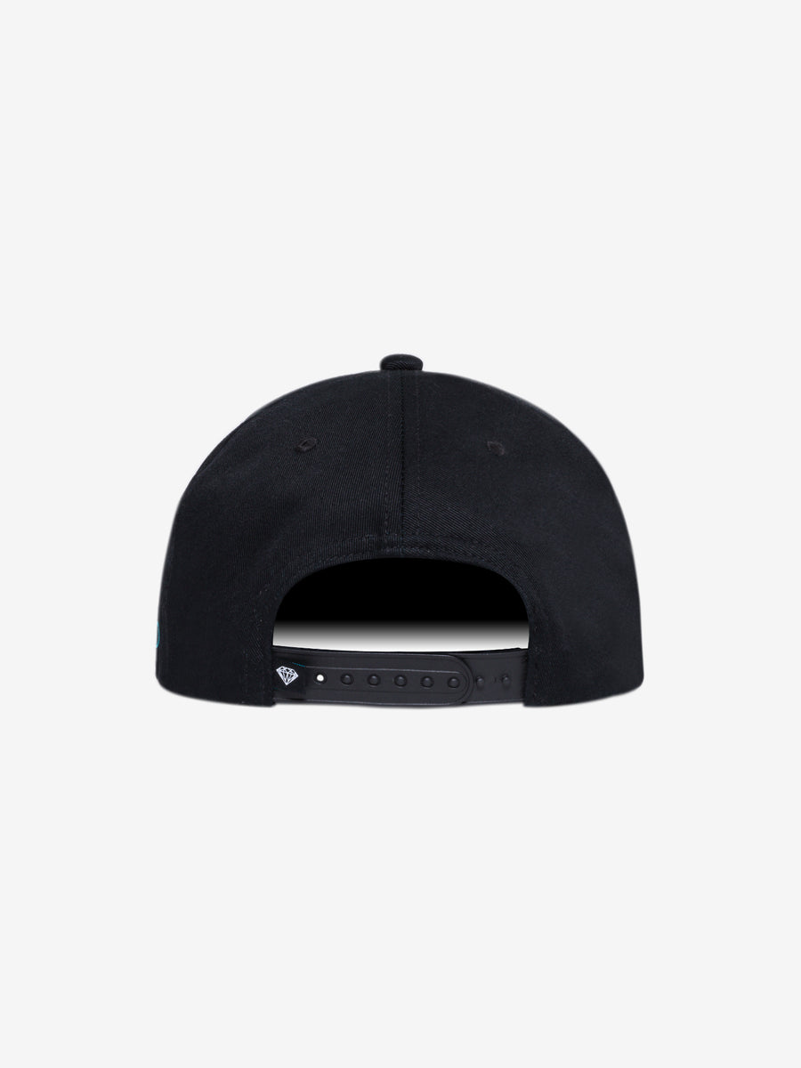 The Hundreds - Diamond x Modelo Neon Sign Hat - Black