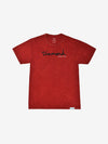 OG Script Mineral Wash Tee - Red