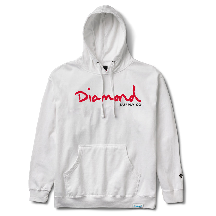 OG Script Pullover Hoodie, Spring 2018 Delivery 2 Sweatshirt Printable -  Diamond Supply Co.