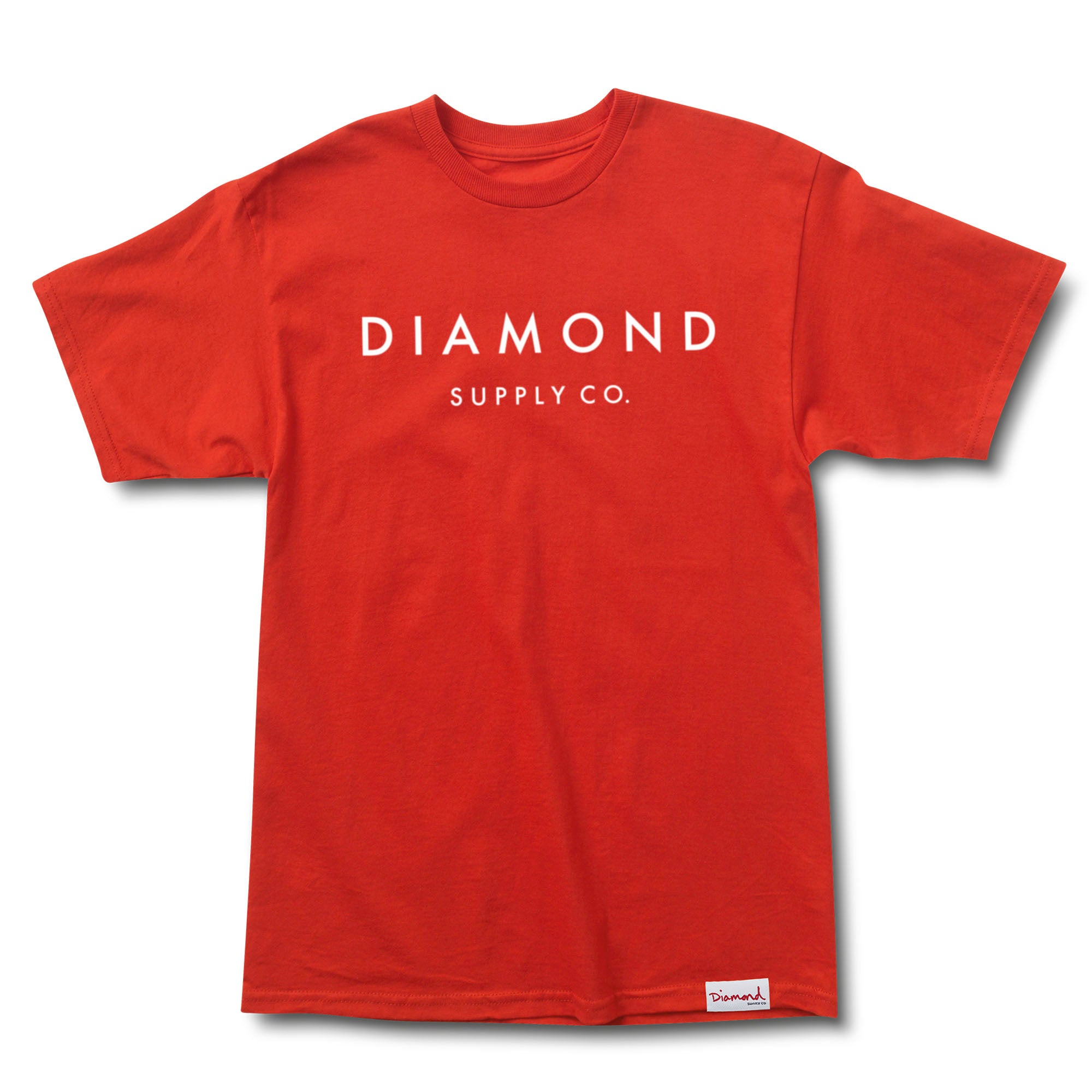 Stone Cut T-Shirt In Red - Red Diamond Supply Company Cheap Online Shop 2018 New Sale Online Extremely Cheap Wide Range Of Discount Footaction hGA2Ef4Ey