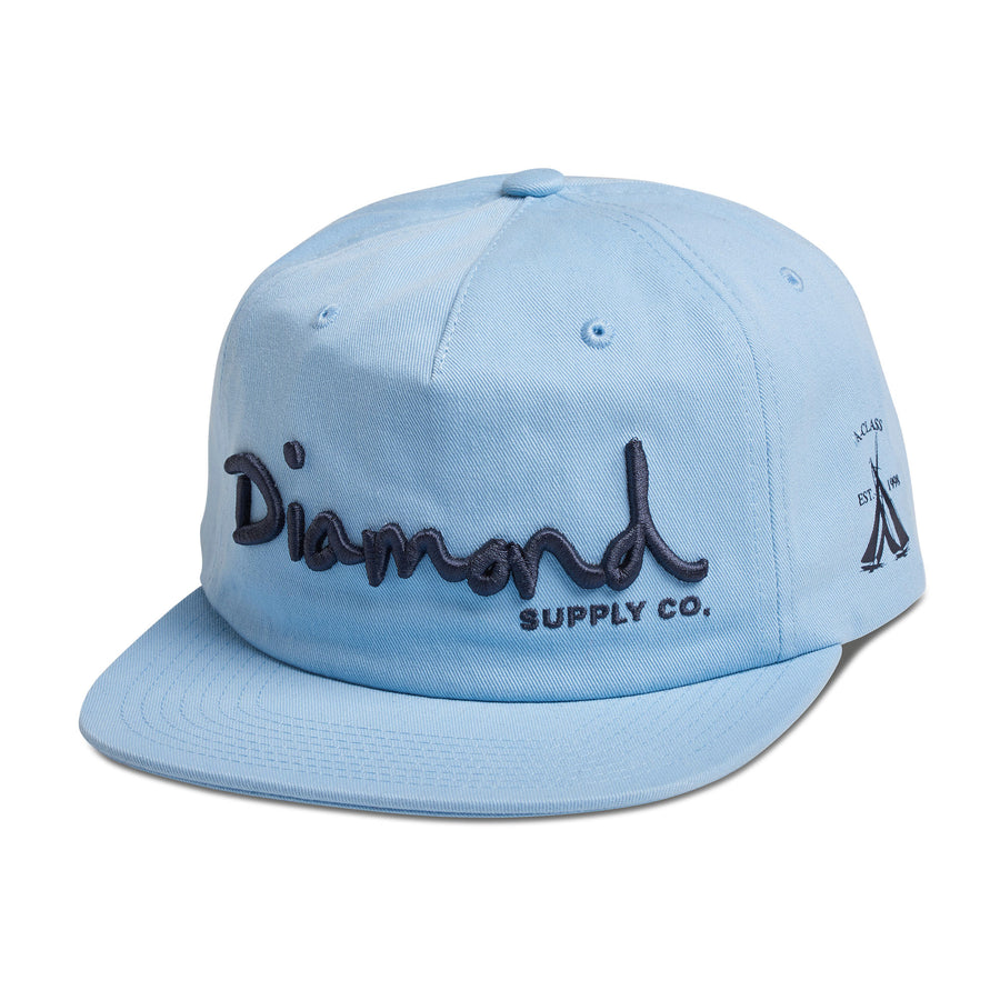OG Script Hat, Spring 2018 Delivery 2 Headwear -  Diamond Supply Co.