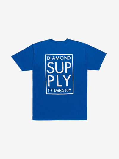 Stacked Tee - Royal Blue