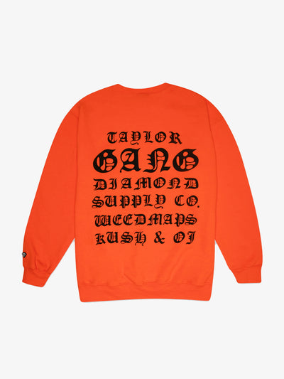 OG Seal Crewneck - Orange