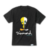 Diamond x Looney Tunes X-Ray Tee - Black