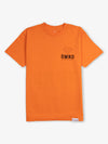 Diamond Block Tee - Orange