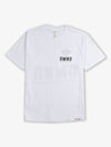 Diamond Block Tee - White