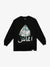 Arabic Diamond Long Sleeve Tee - Black