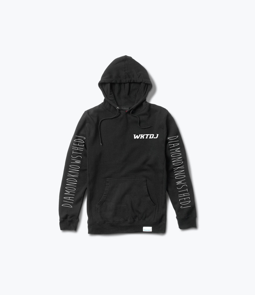 WKTDJ Pullover Hood, Limited Additions -  Diamond Supply Co.
