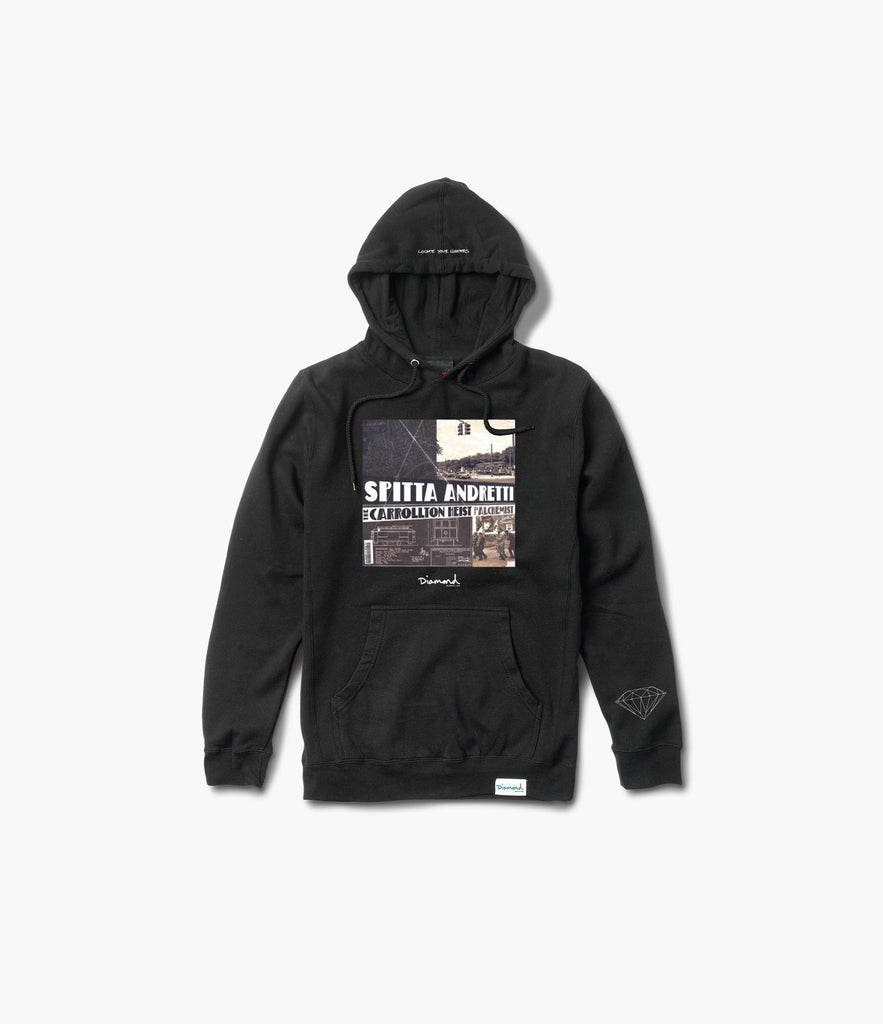 Diamond x Curren$y & Alchemist Pullover Hood, Limited Additions -  Diamond Supply Co.