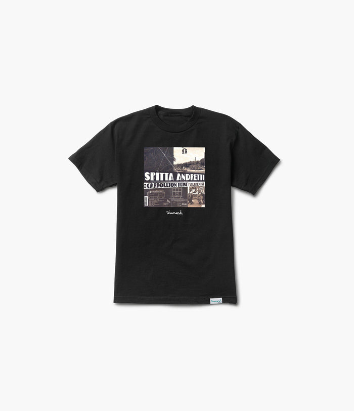 Diamond x Curren$y & Alchemist Tee, Limited Additions -  Diamond Supply Co.