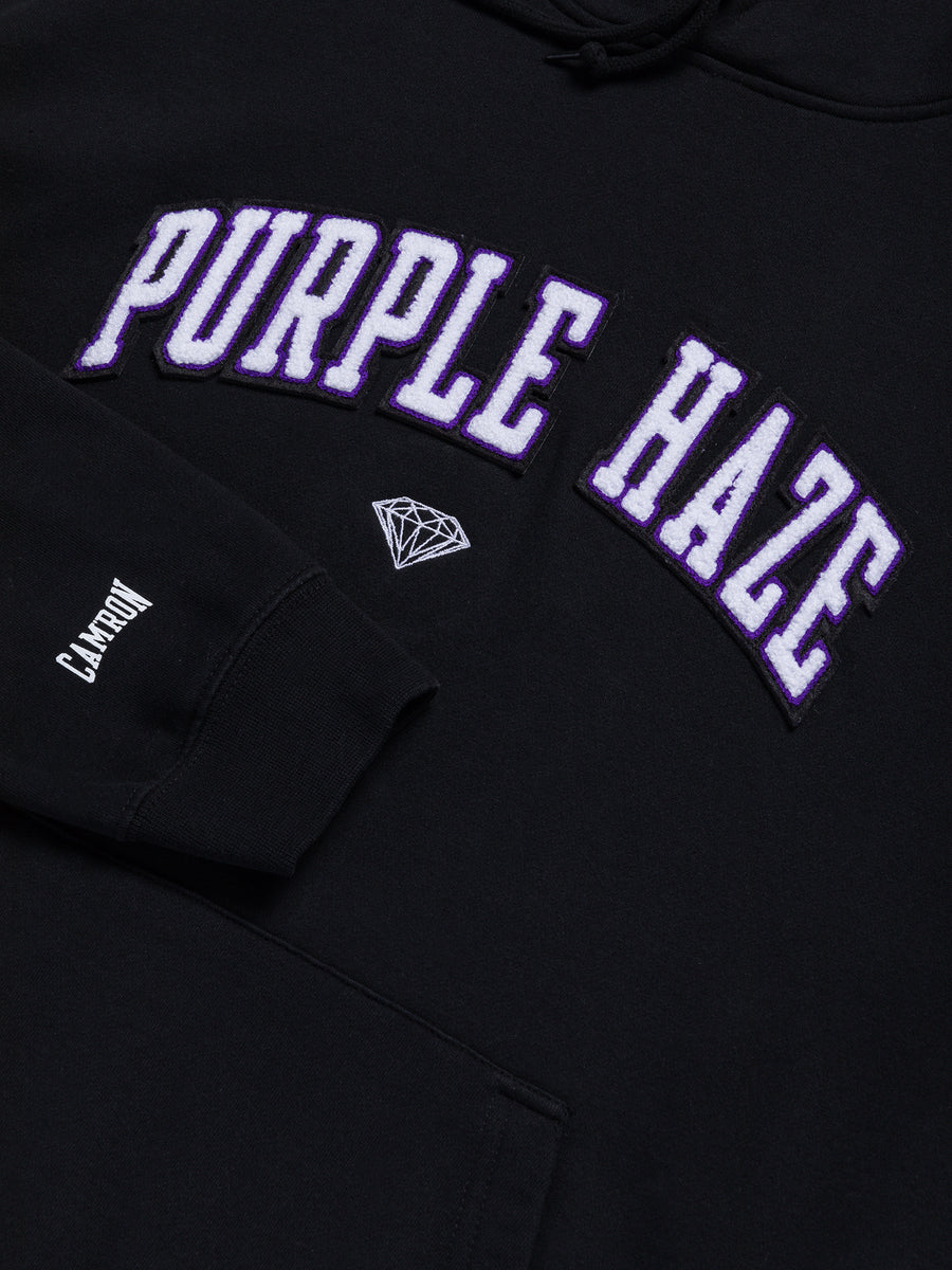 Diamond x Cam'ron Purple Haze Hoodie - Black, Camron -  Diamond Supply Co.
