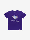 Diamond x Cam'ron Sign Tee - Purple