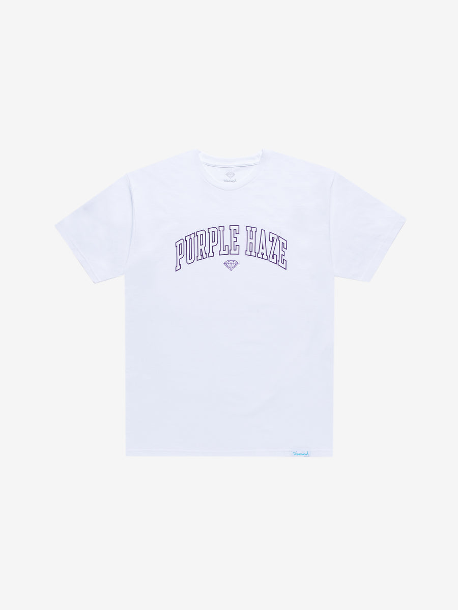 Diamond x Cam'ron Purple Haze Tee - White