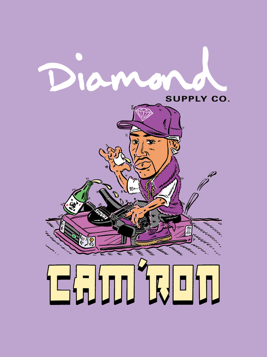 Diamond x Cam'ron Purple Haze Snapback - Purple, Camron -  Diamond Supply Co.
