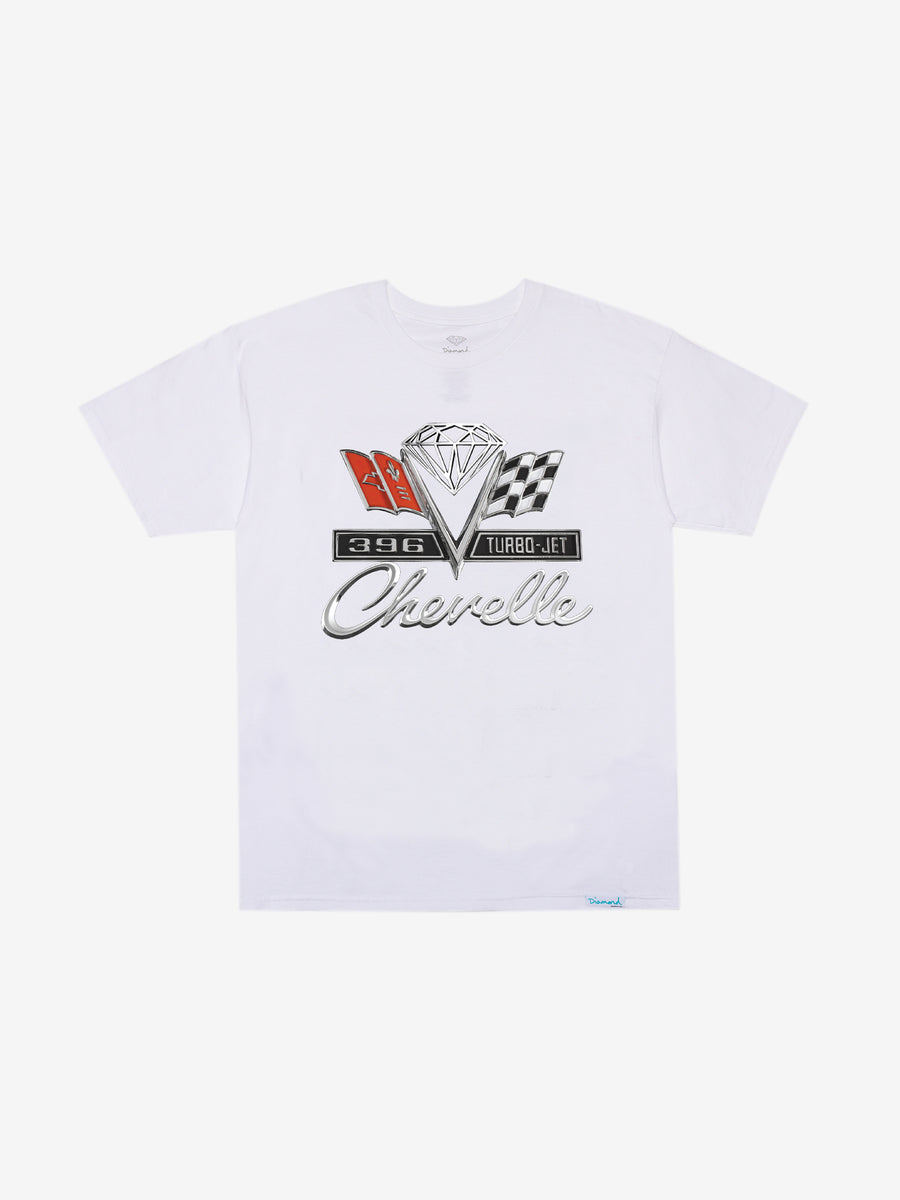 Diamond x Chevelle Emblem Tee - White