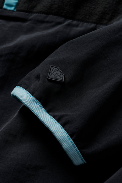 Marquise Reversible Polar Fleece - Black