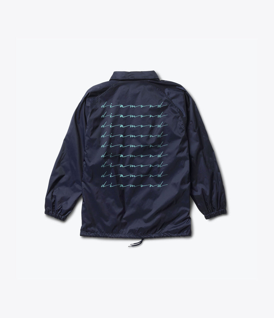 Shine Script Coaches Jacket, Summer 2016 Delivery 2 Jackets -  Diamond Supply Co.