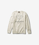 Brilliant Diamond Crewneck Sweatshirt, Fall 2016 Sweatshirts -  Diamond Supply Co.