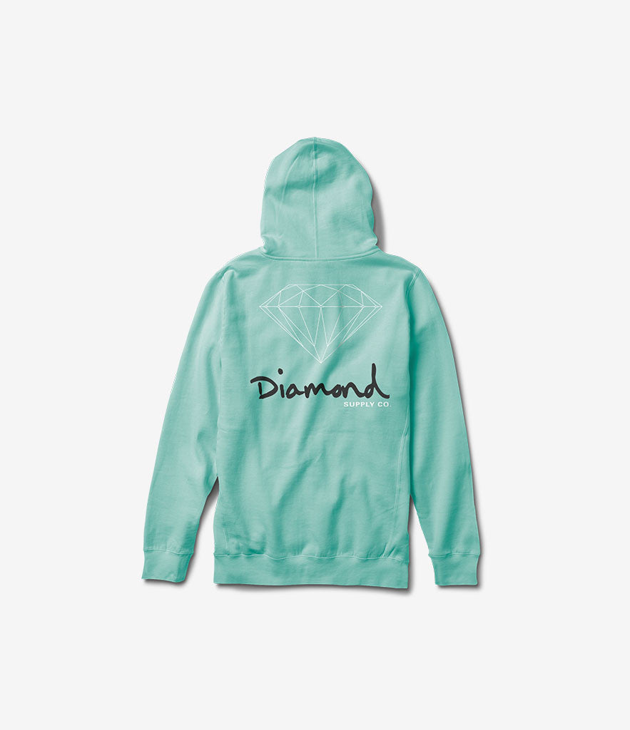 OG Sign Zip Hood, Fall 2016 Sweatshirts -  Diamond Supply Co.