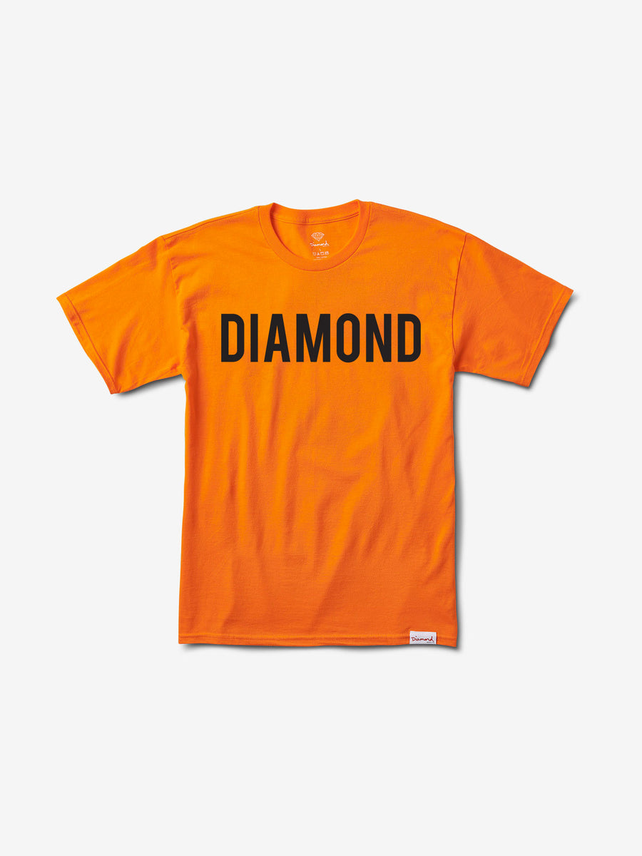 Diamond Team Tee - Orange