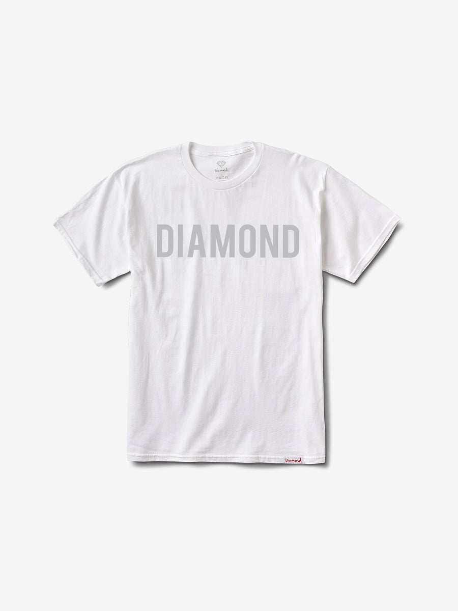 Diamond Team Tee - White