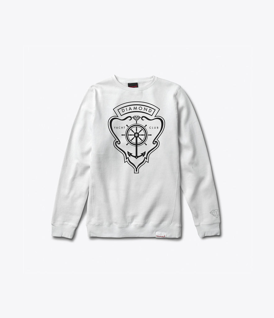 Yacht Crest Crewneck Sweatshirt, Summer 2016 Delivery 1 Crewneck Sweatshirts -  Diamond Supply Co.