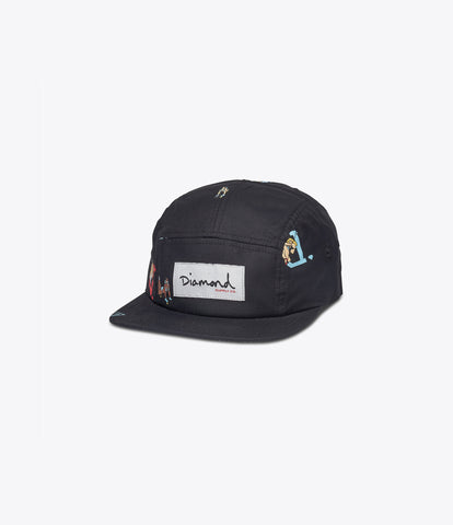 Yacht 5-Panel Camp Hat