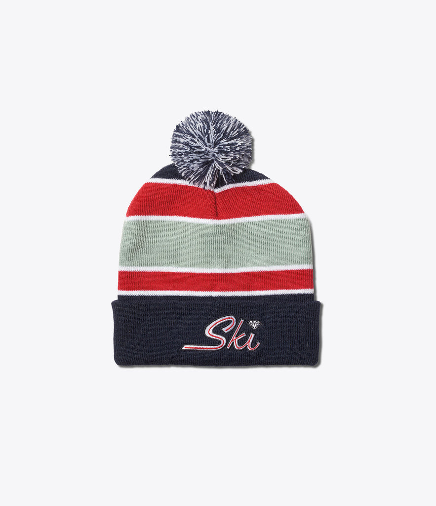 Diamond Ski Pom Beanie, Holiday 2016 Delivery 1 Headwear -  Diamond Supply Co.
