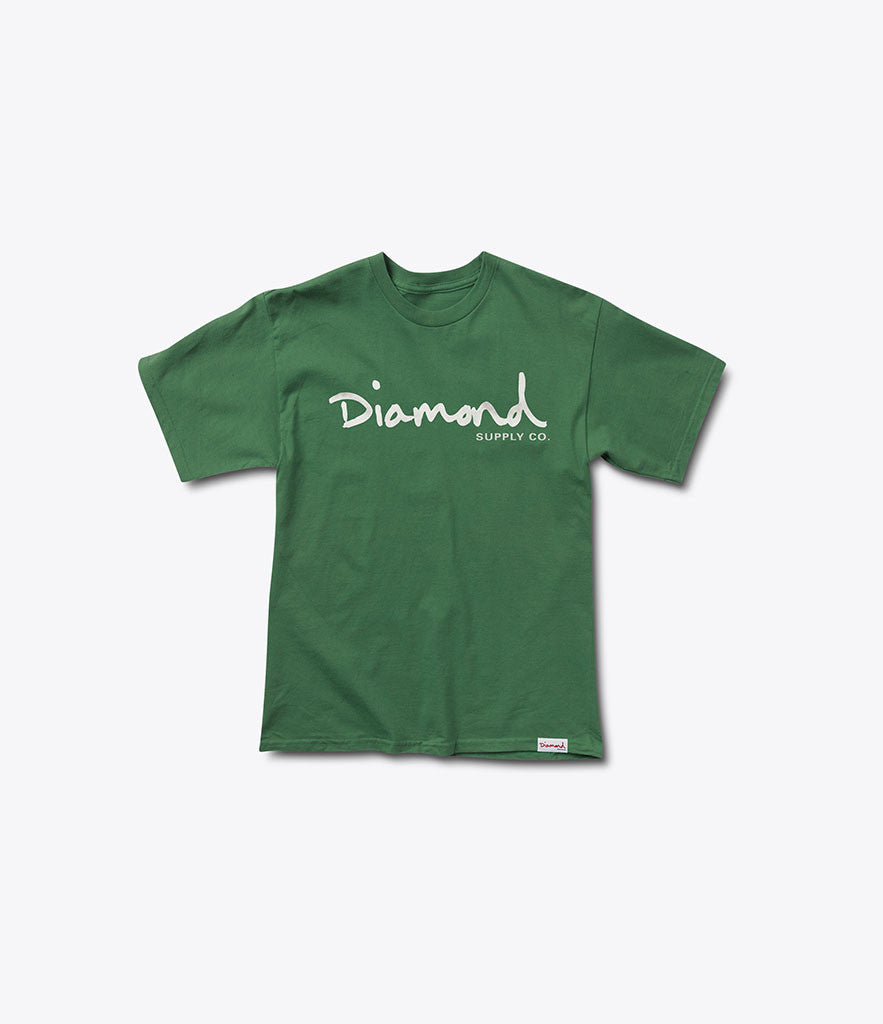 OG Script Tee, Fall 2016 Tees -  Diamond Supply Co.