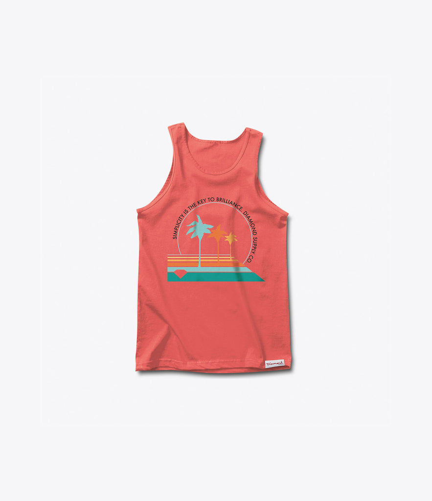 Palm Vibes Tank Top, Summer 2016 Delivery 1 Tank Tops -  Diamond Supply Co.