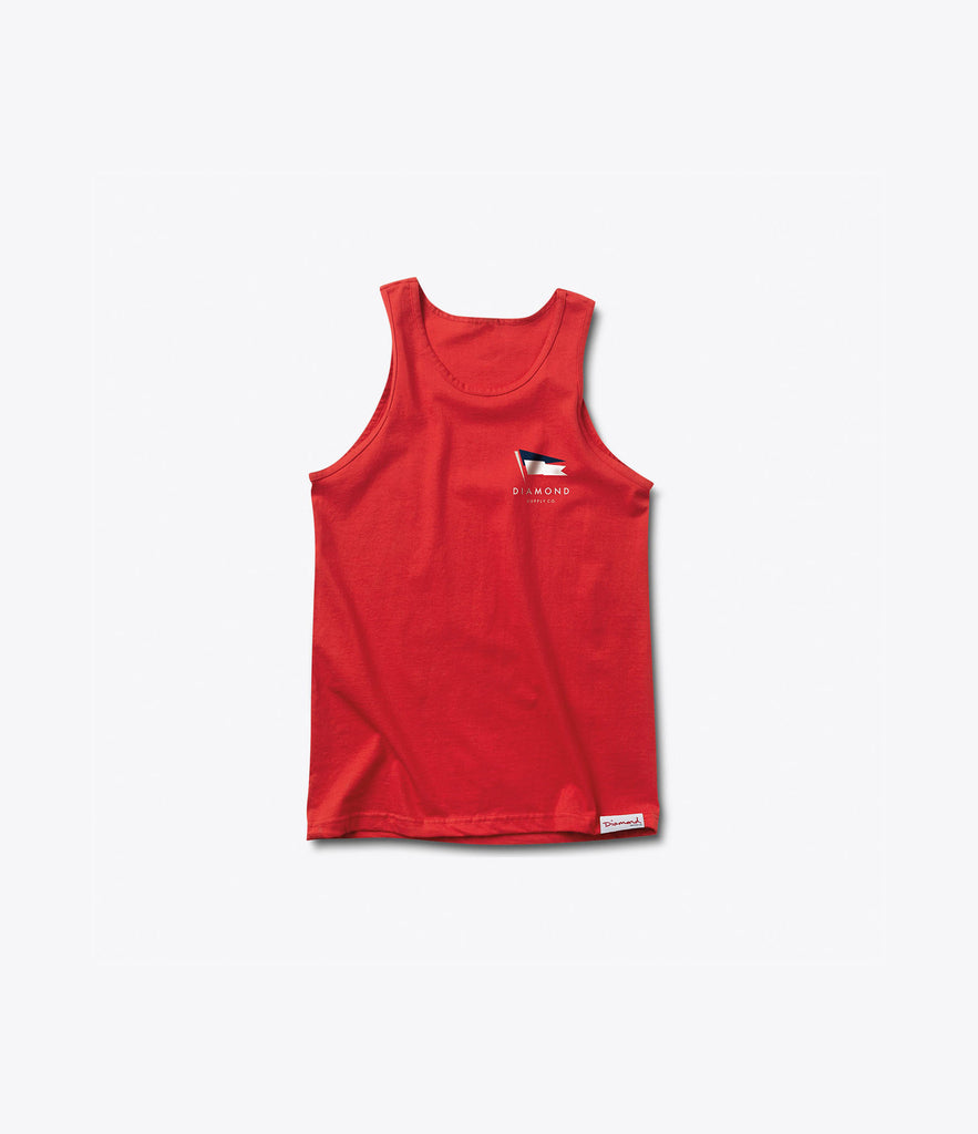 Yacht Flag Tank Top, Summer 2016 Delivery 1 Tank Tops -  Diamond Supply Co.