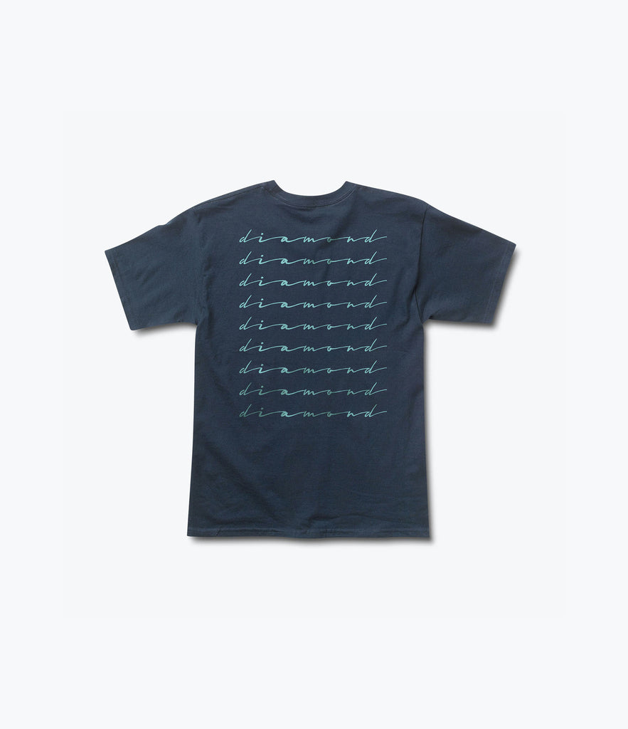 Shine Script Tee, Summer 2016 Delivery 2 Tees -  Diamond Supply Co.
