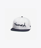 New Era OG Script Fitted, Fall 2016 Headwear -  Diamond Supply Co.