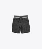 Black Facet Sweatshorts