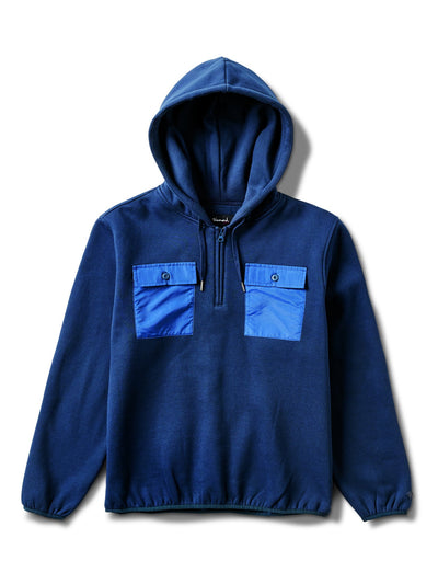 Brilliant Quarter Zip Hoodie - Navy