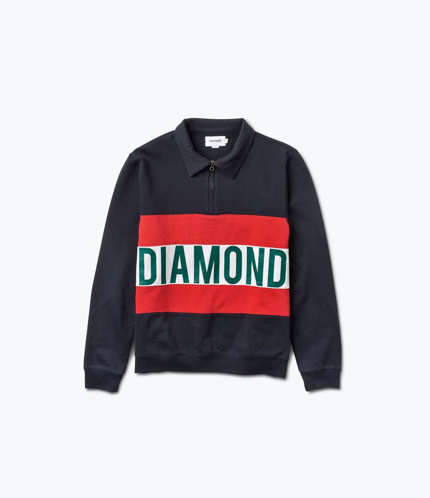 Burnout Zip Crew, Spring 2017 Delivery 2 Cut-n-Sew -  Diamond Supply Co.