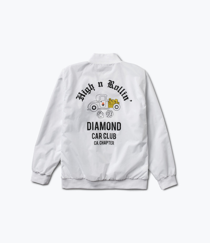 Club Varsity Jacket, Spring 2017 Delivery 2 Jackets -  Diamond Supply Co.