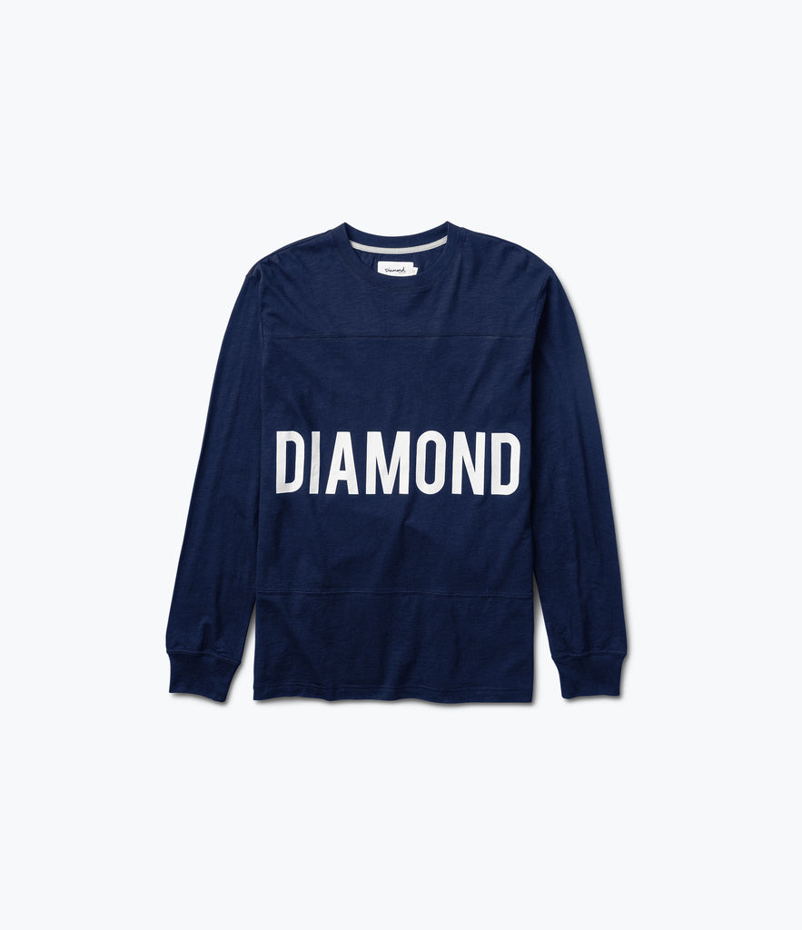 Speedway Football Top, Spring 2017 Delivery 2 Cut-n-Sew -  Diamond Supply Co.