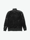 Brilliant Striped Track Jacket - Black