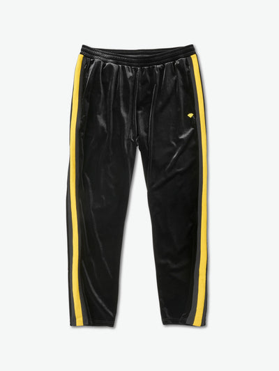 Brilliant Striped Track Pants - Black