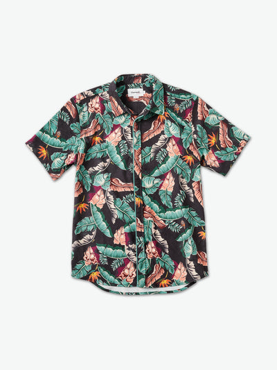Tropical Paradise Woven - Black