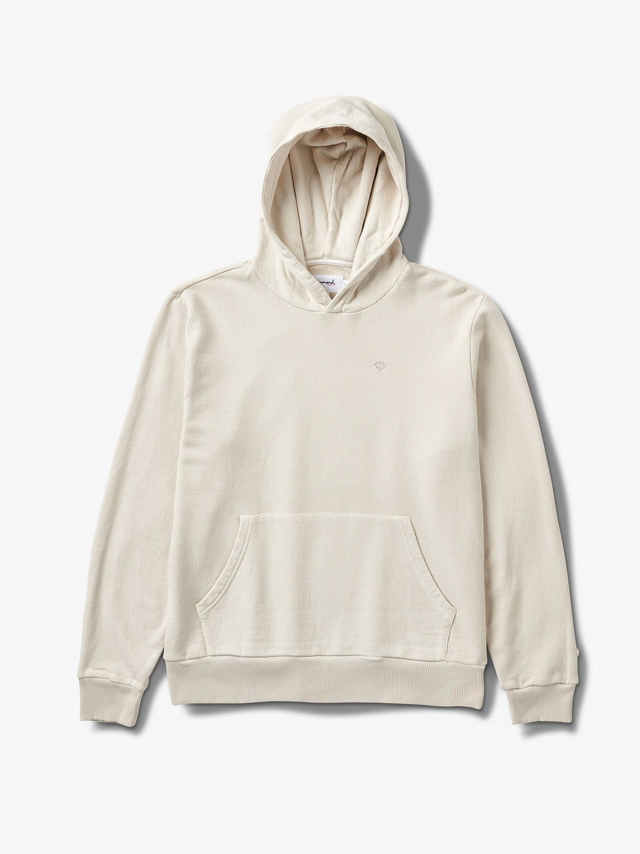 Brilliant Overdyed Hoodie - White