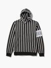 The Hundreds - Lafayette Striped Hoodie - Black