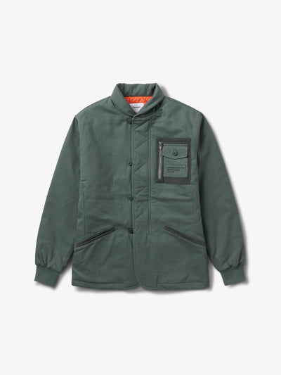 The Hundreds - Bunker Herringbone Jacket - Army