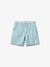 Crosby Twill Shorts - White & Diamond Blue