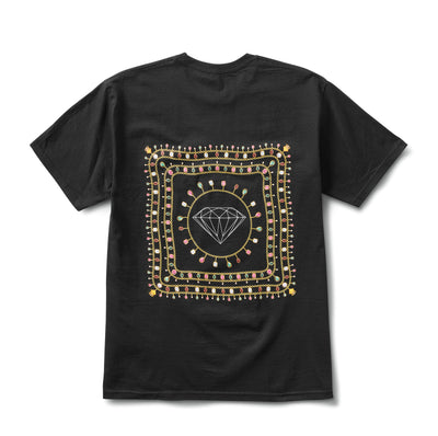 Diamond Chain Tee - Black