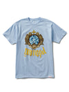 Diamond Glass Tee - Powder Blue